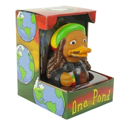 ONE POND RASTA RUBBER DUCK