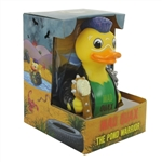 MAD QUAX - THE POND WARRIOR RUBBER DUCK