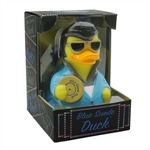 BLUE SUEDE ROCK AND ROLL RUBBER DUCK