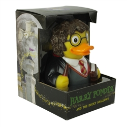 HARRY PONDER WIZARD RUBBER DUCK